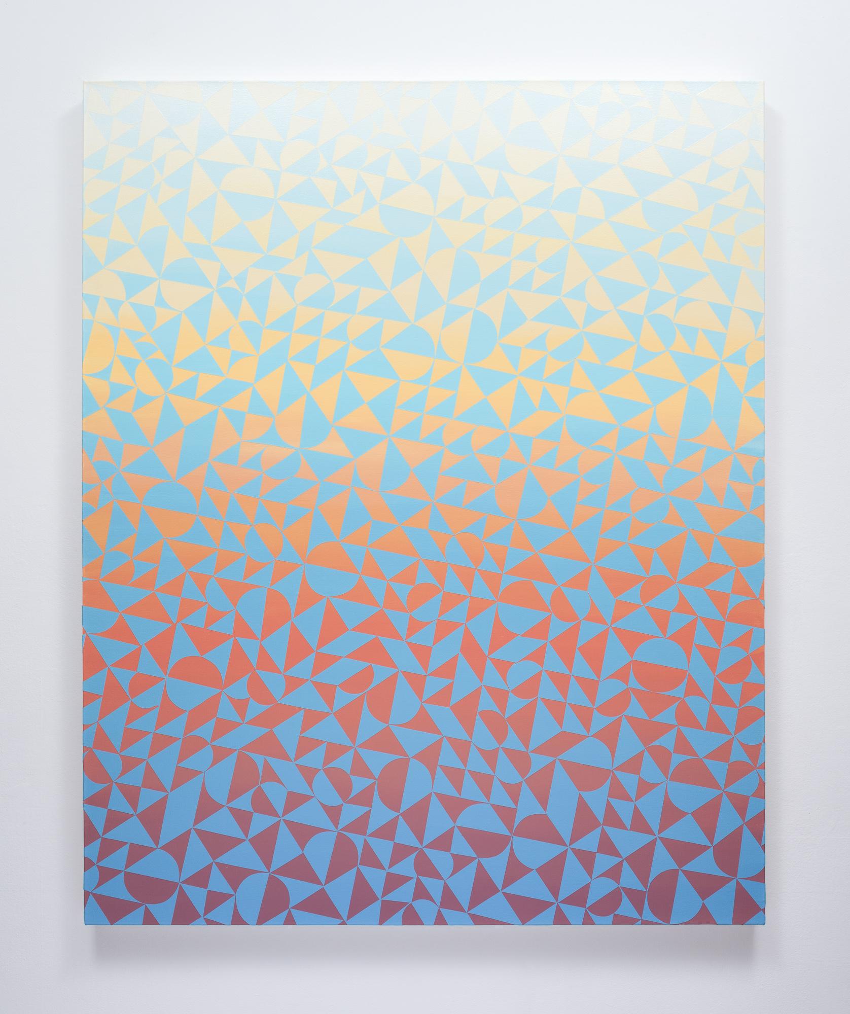 """Cole Pierce #130 (2016) Acrylic on Canvas, 60""""x48"""""""
