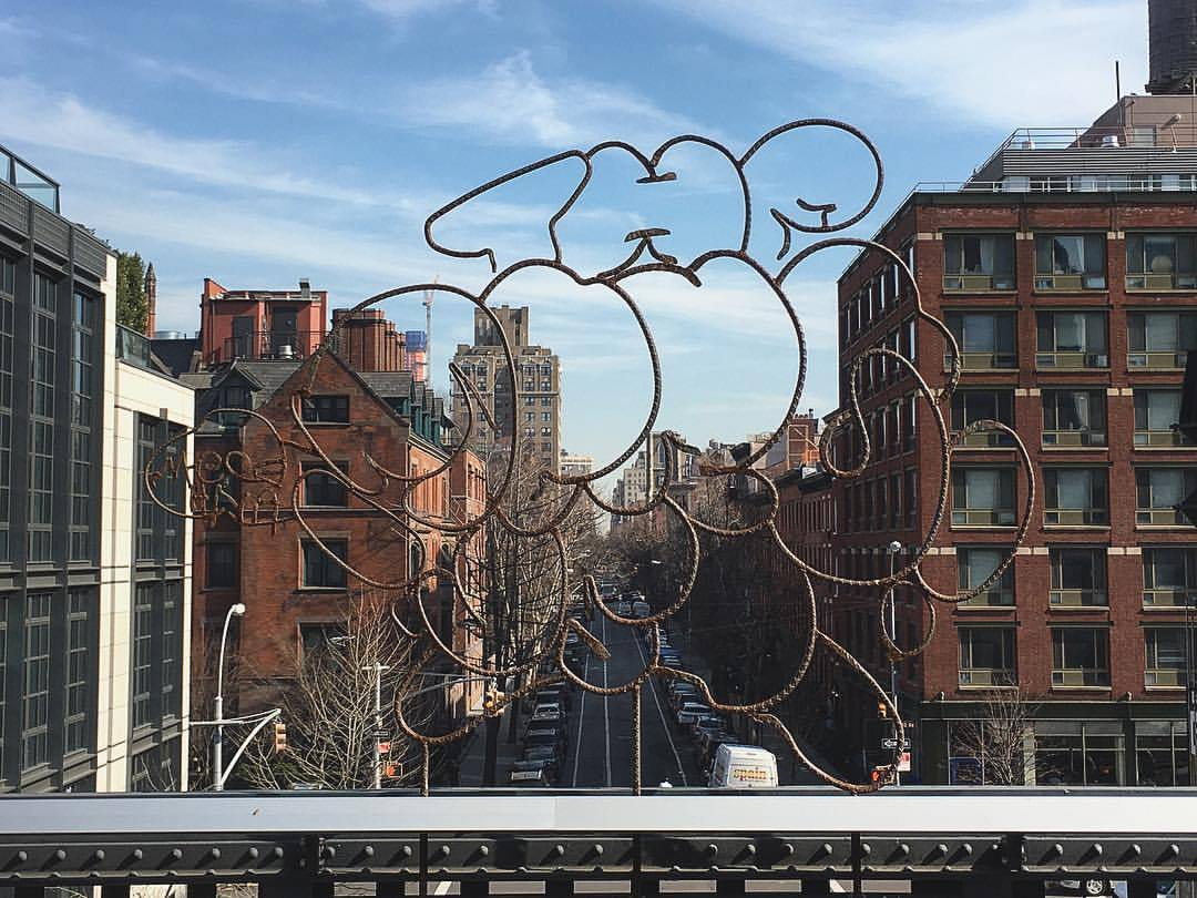hidden messages (at The High Line)