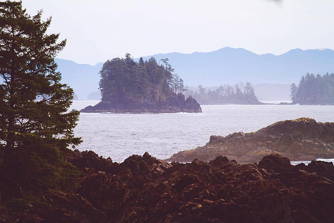 islands in the stream, that is what we are (at Ucluelet, British Columbia)