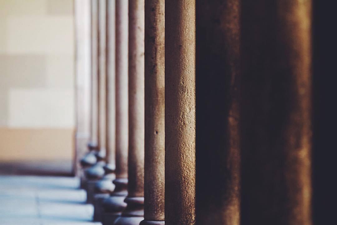 pillars of civilization  (at Jardins De La Universitat)