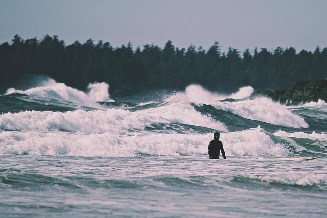 crazy surf (at North Chesterman Beach)