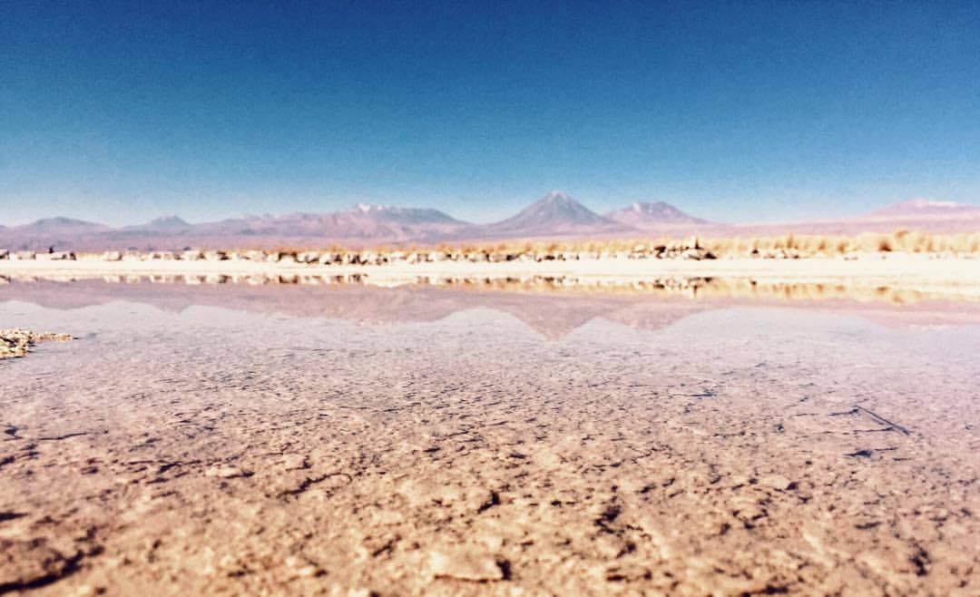 Salt Lake. (at Salar de Atacama)