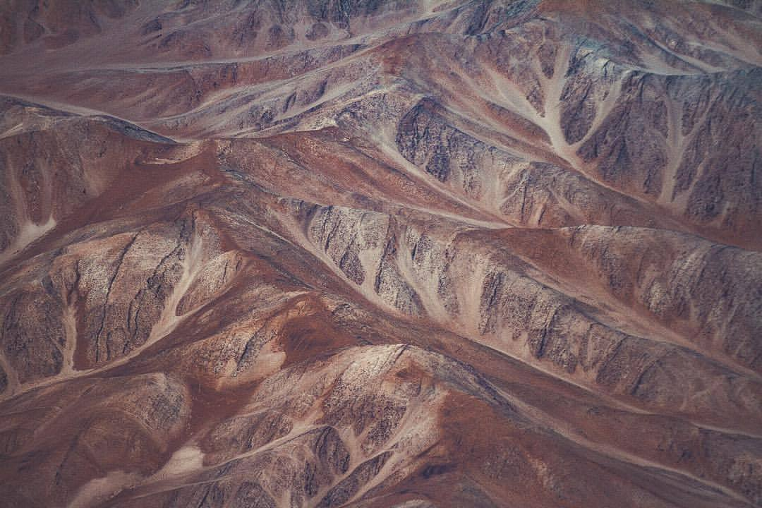 The sinewy mountains that hold up the Andes.