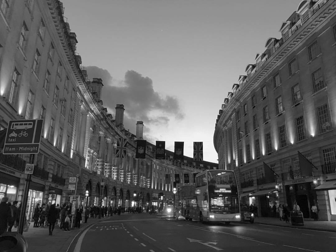 Back in London after a few weeks away. Still not tired of life nor London. #😜 (at Regent Street)