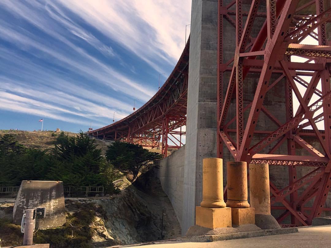 RGB at the Golden Gate Bridge. (at Golden Gate Bridge)