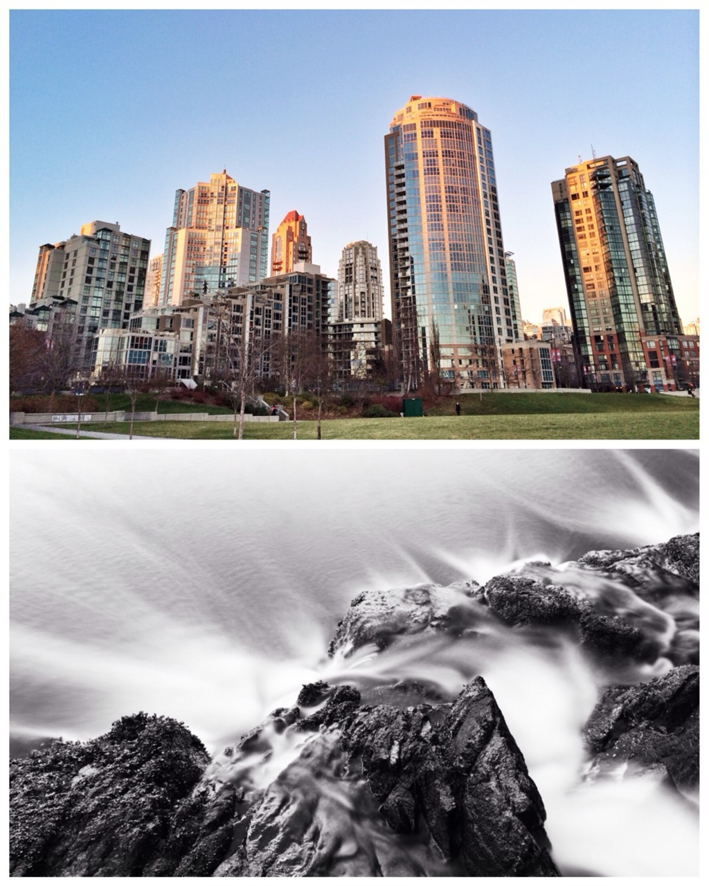 Wilderness to downtown. A perfect Vancouver day.