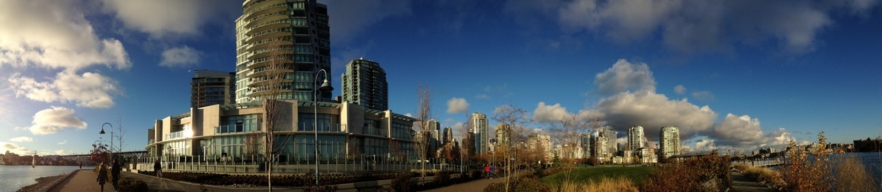 Lovely day today. at David Lam Park – View on  Path .