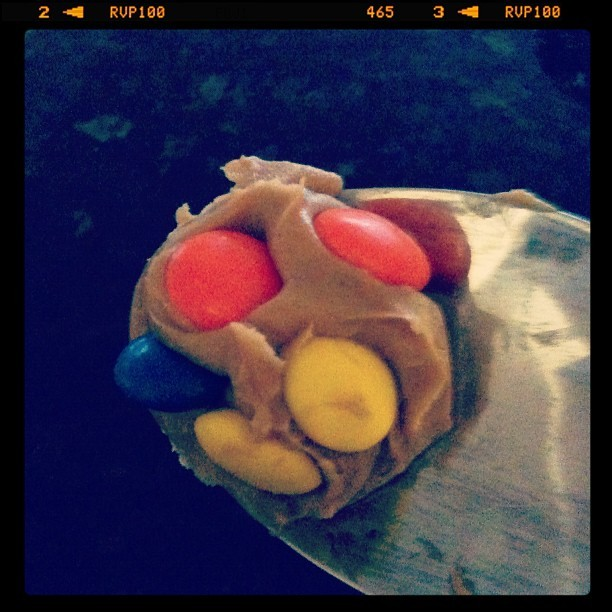 Peanut butter & M&Ms!! (Taken with  instagram )