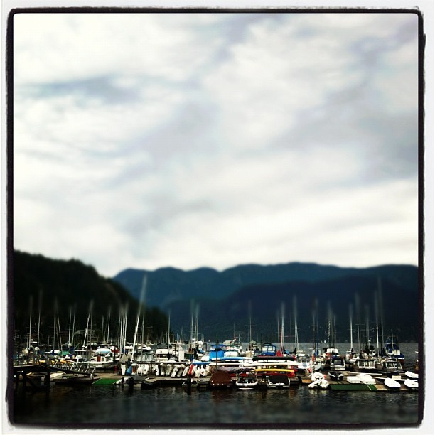 Taken with  Instagram  at Deep Cove