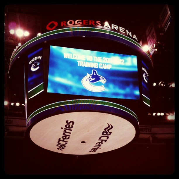 Day 1 - Brand new season! (Taken with  Instagram  at Rogers Arena)
