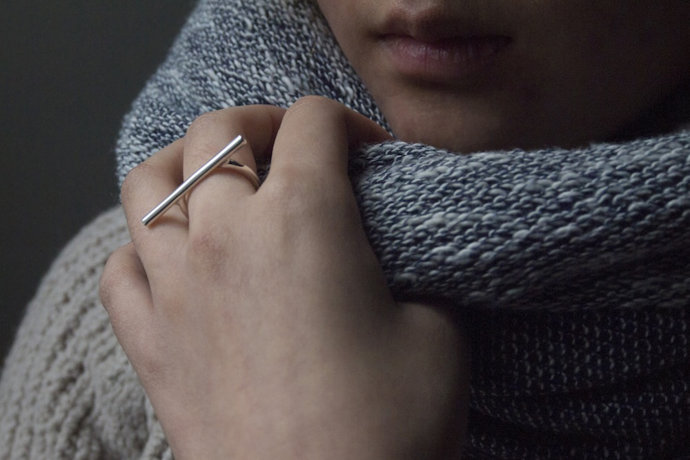 Curve+Straight Head ring