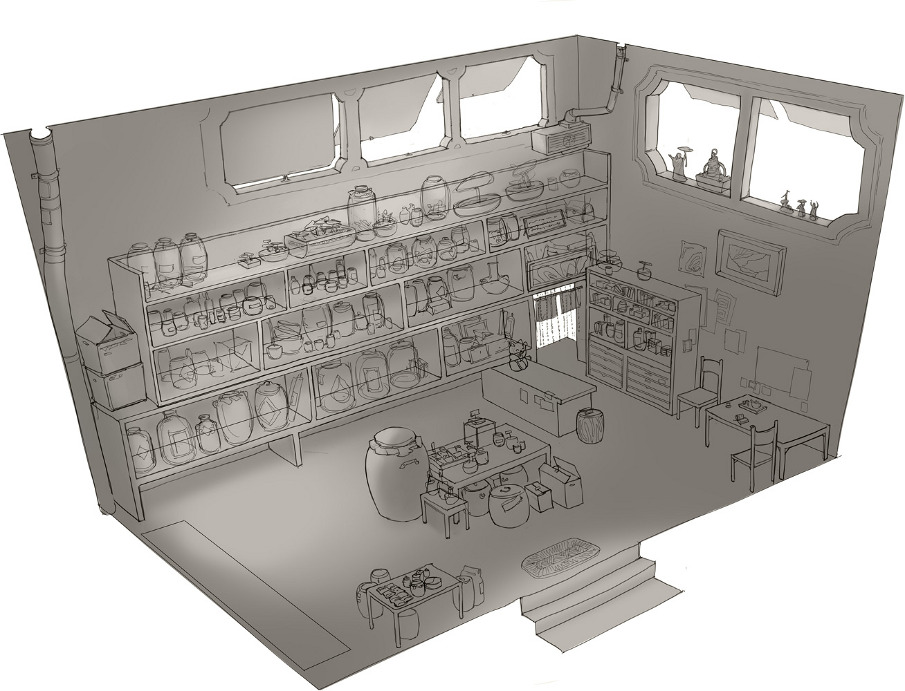 Apothecary Layout