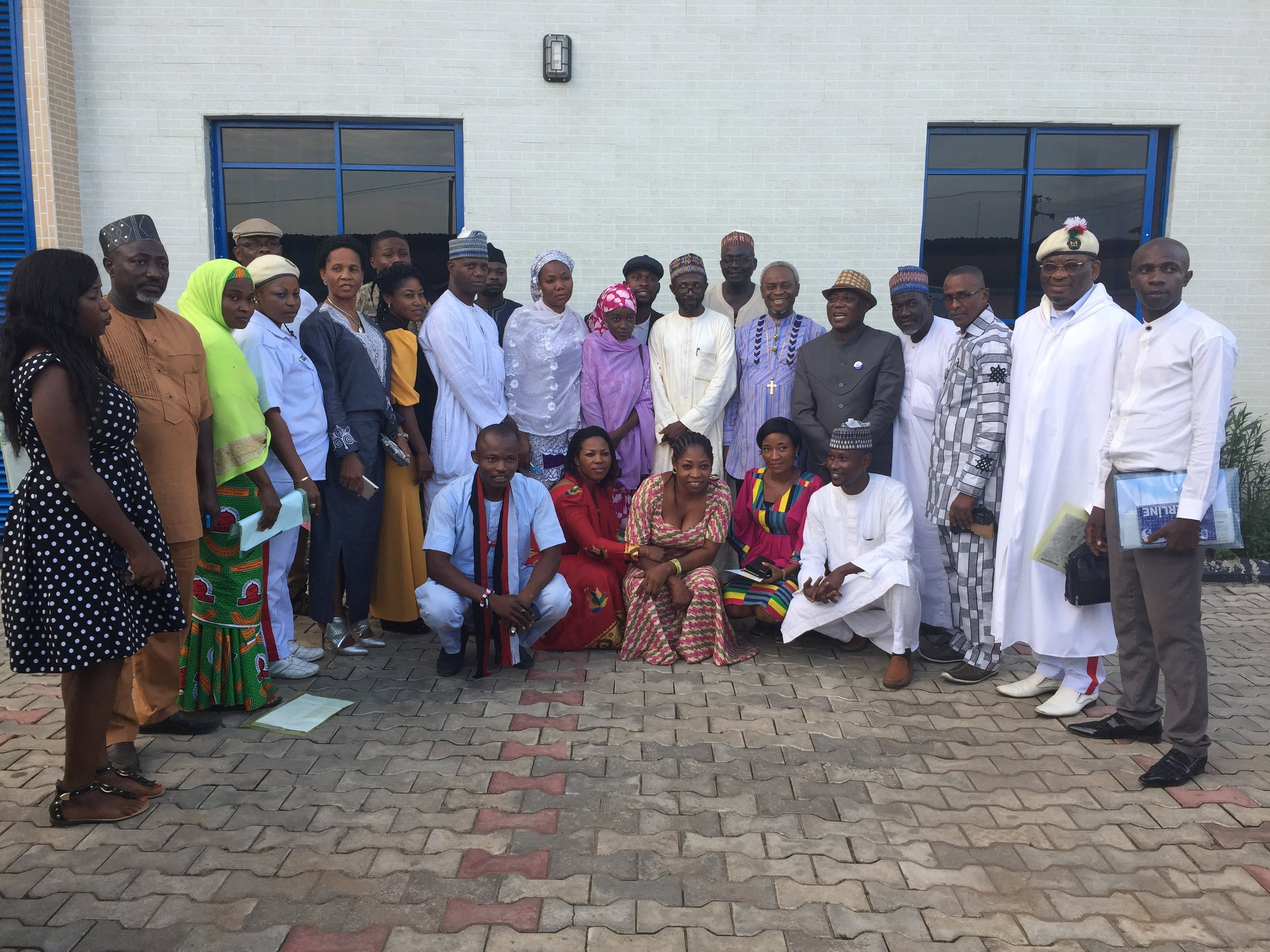 Cross Section of Participants from Imo/Bauchi, IMC in a group photograph after the meeting