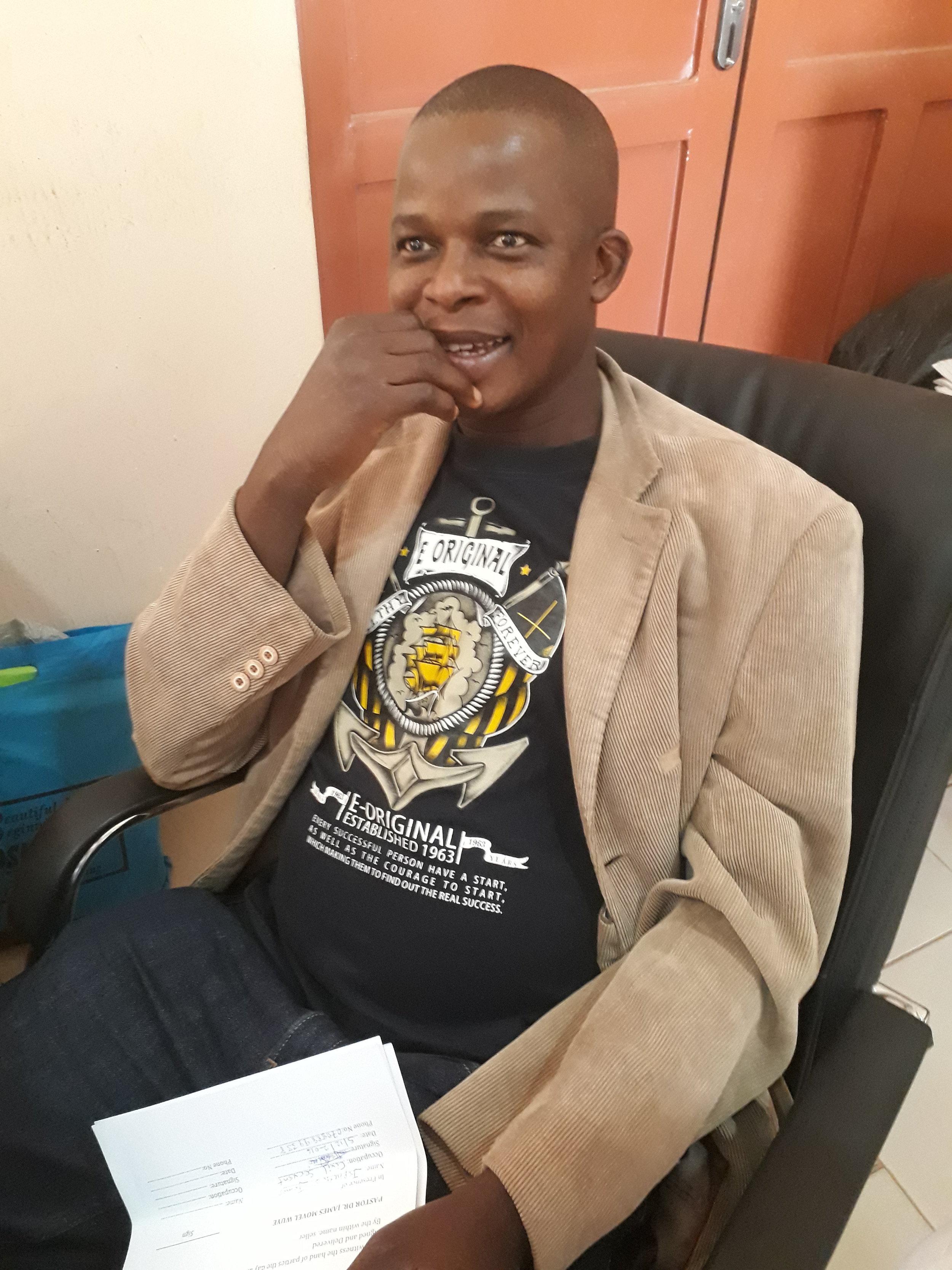 Samson Auta, CPAN Cordinator, IMC. Mobile number: 0803-595-3105. Email: samsonauta1@gmail.com