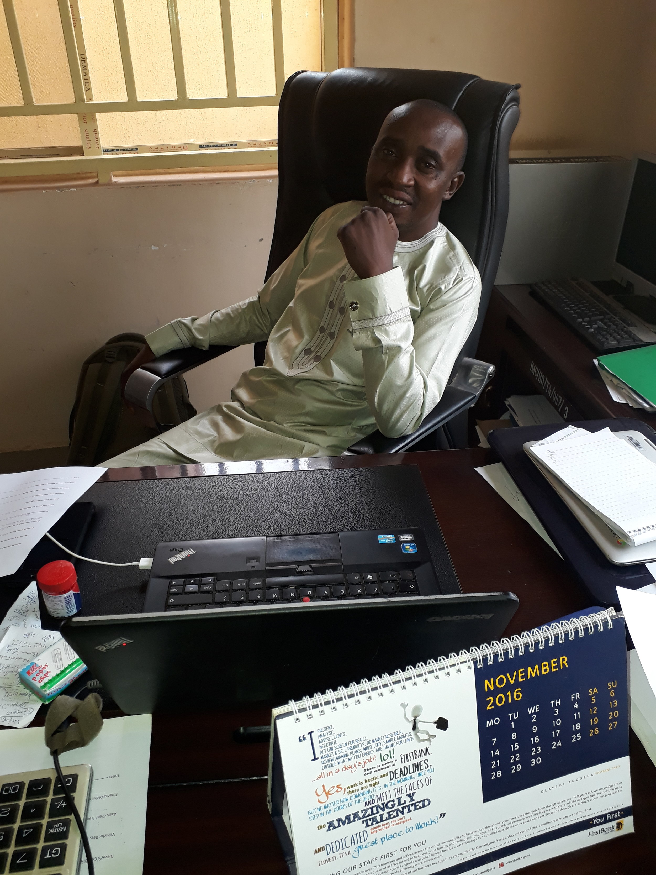 Timothy Adamu Yohanna, Finance and Administration Manager, IMC. Mobile number: 0803-800-4257 or 0803-692-2405. Email: adamsqueenmimi@gmail.com/shelmadinee@yahoo.com