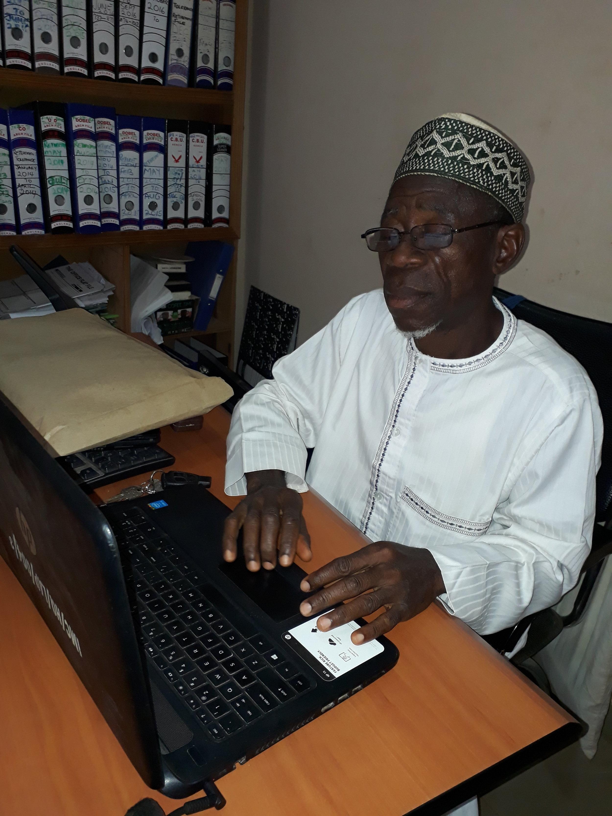 Badmus Abdulfatai, Account Officer, IMC. Mobile number: 0803-507-6459. Email: imcbadmus@yahoo.com