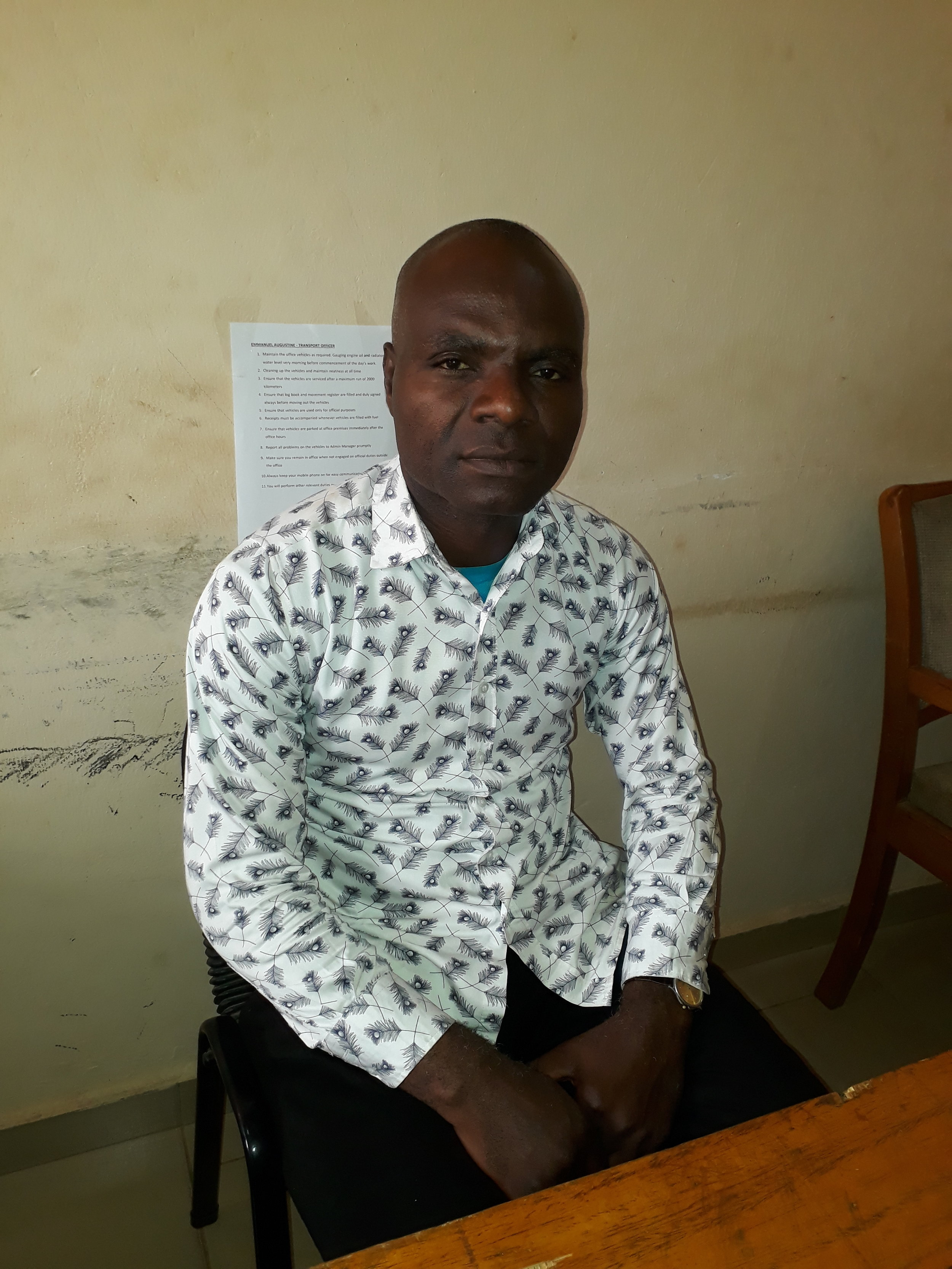 Emmanuel Augustine, Transport Officer, IMC. Mobile number: 0802-852-4440. Email:dlordservant@gmail.com