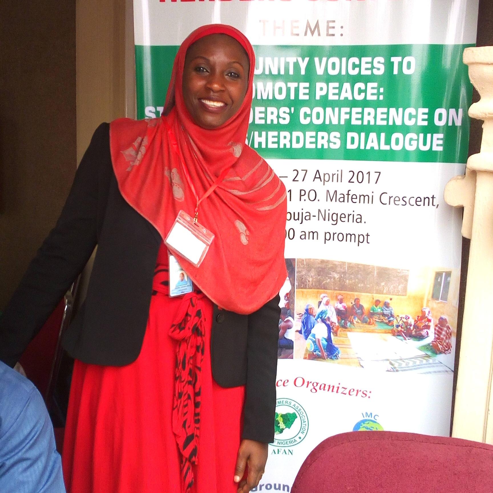 Hauwa Maaji, Volunteer. Phone: 08037007440. E-mail: hymaaji@yahoo.co.uk