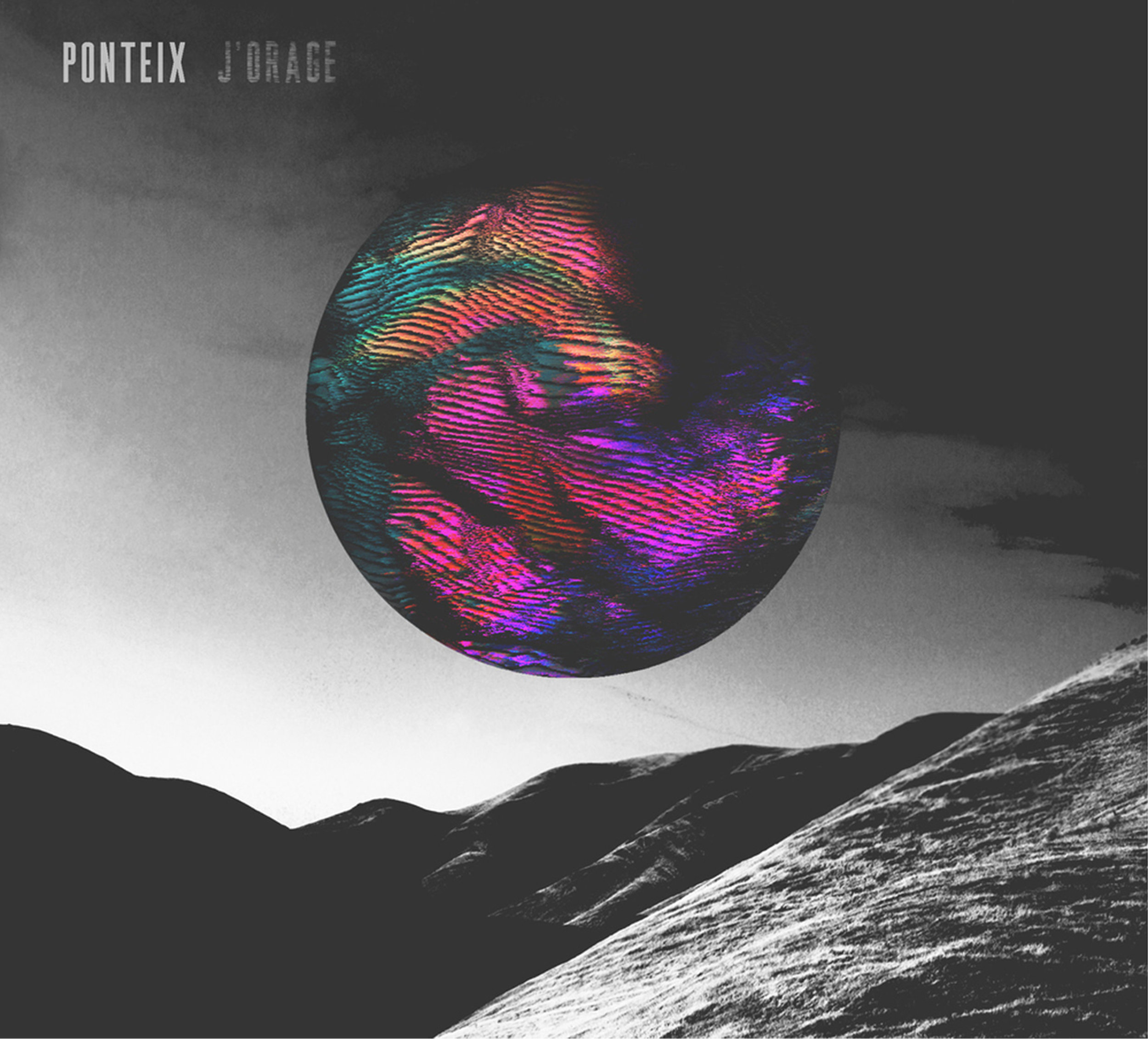 PONTEIX  (Saskatoon, SK) - Artwork and packaging design for J'Orage, the first EP by Ponteix