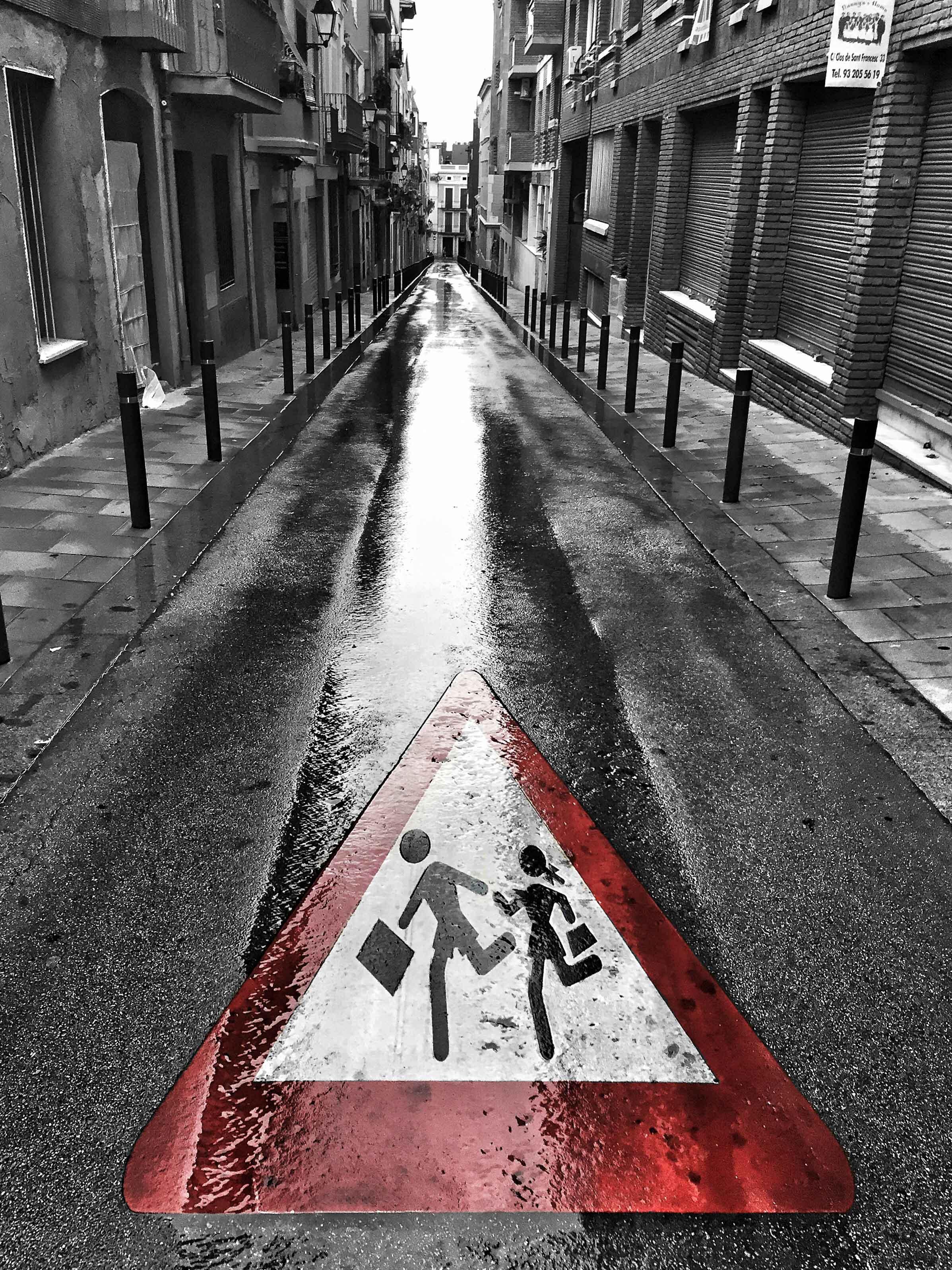 """""""Run Fast, Don't Walk"""" - Barcelona, Spain"""