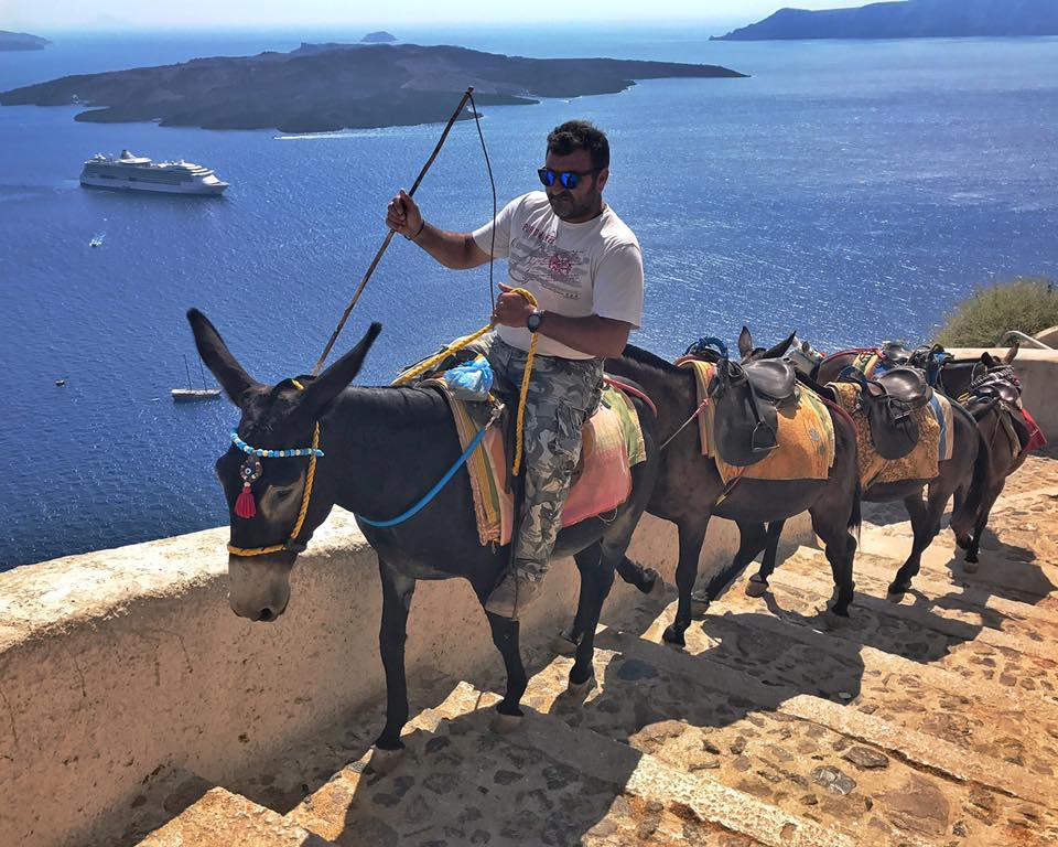 Modern Transportation - Santorini, Greece