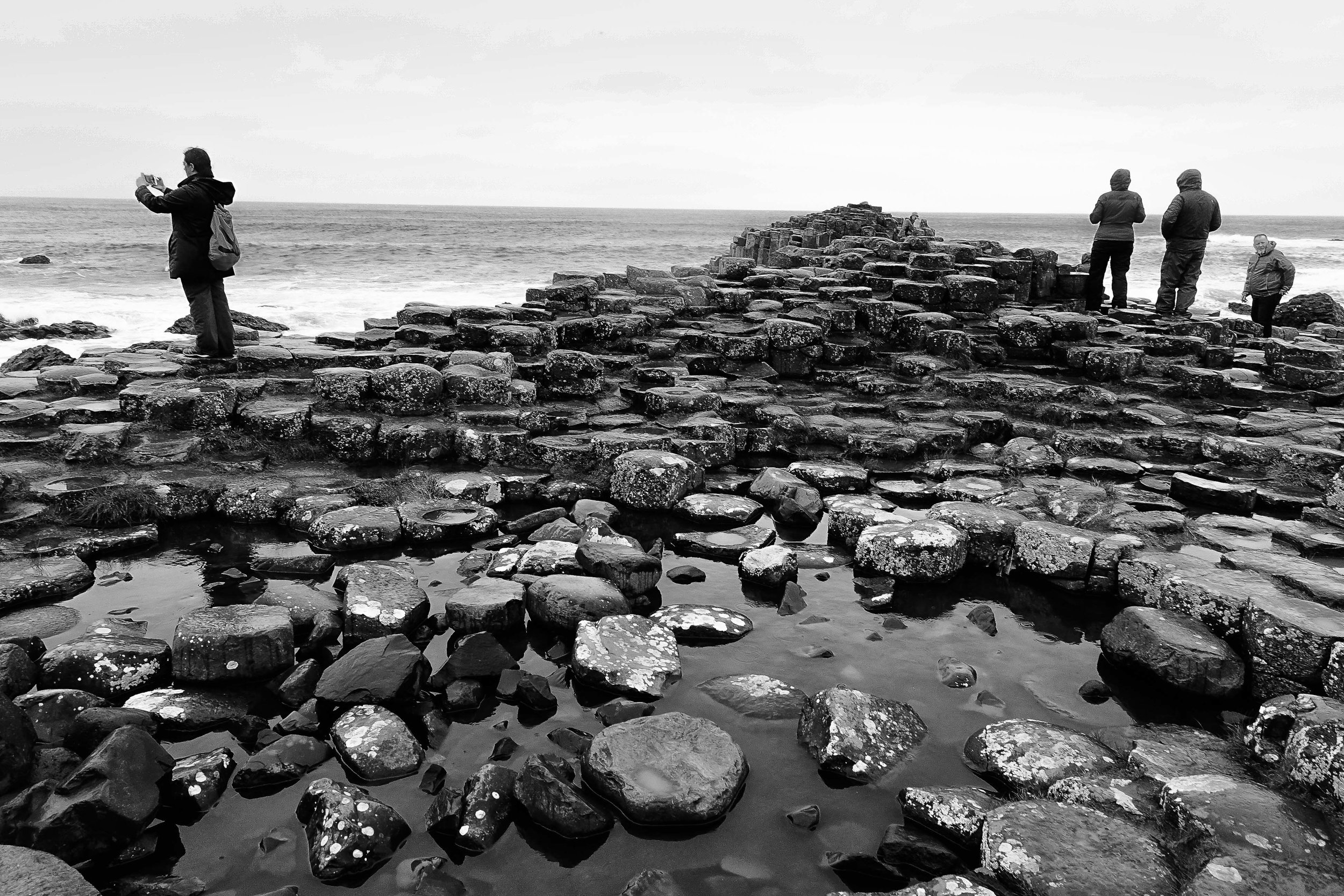 Giants Causeway - N. Ireland (Sony Rx100 IV - 1/80th, f5.6, ISO 400)