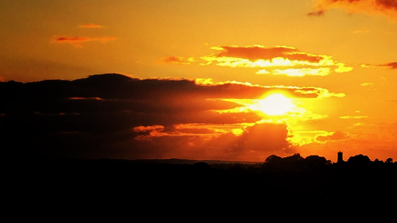 Timelapse sunrise angle