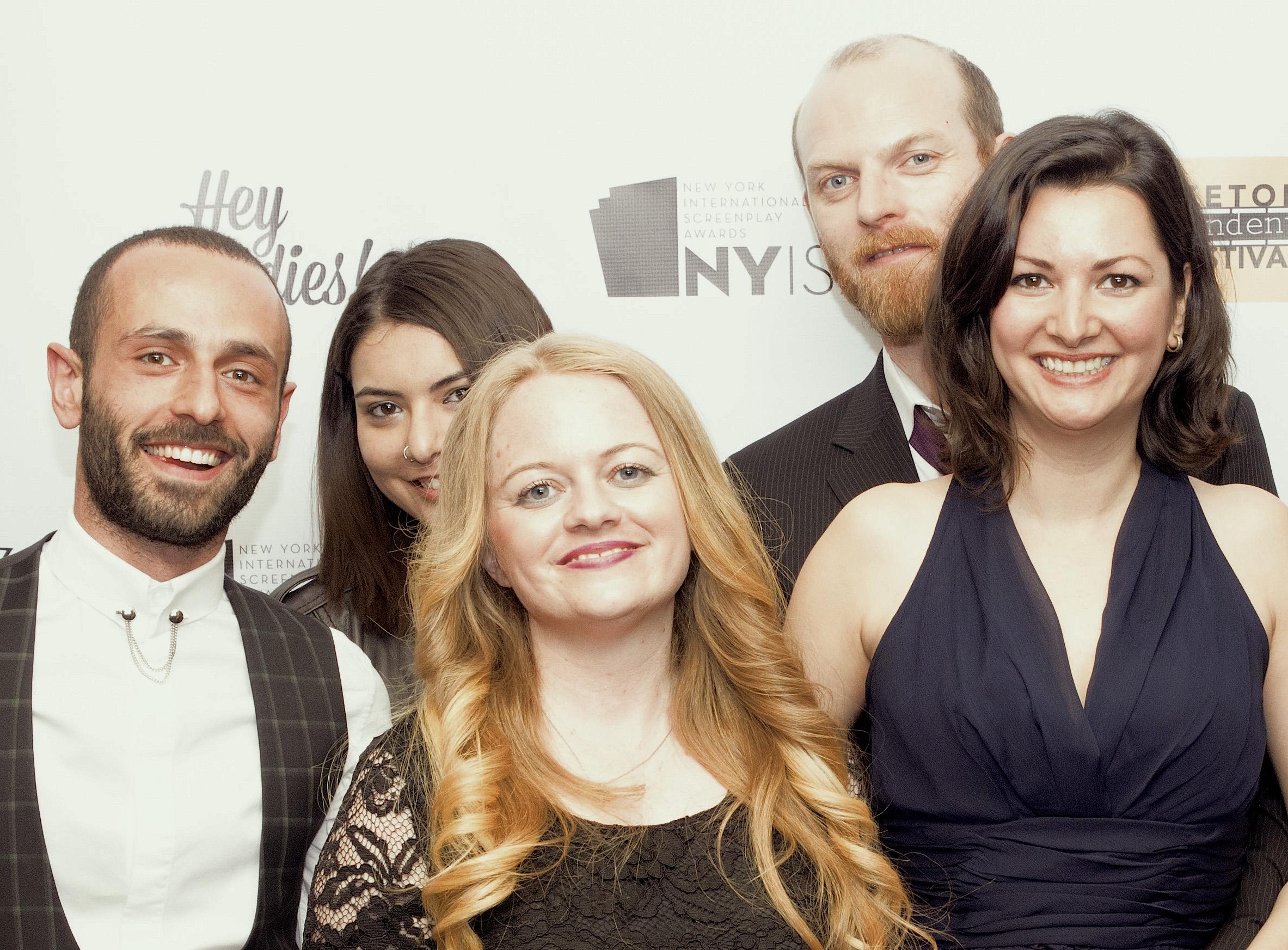 NYISA 2016 Award Ceremony. Emine Dursun's Friends and Family.