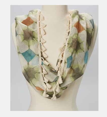 Scarf print created for the Accessory Collective
