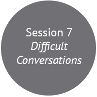 There's a really good reason we call them difficult conversations! In this session we'll work through the three phases of having a difficult conversation, with 10 memorable steps.