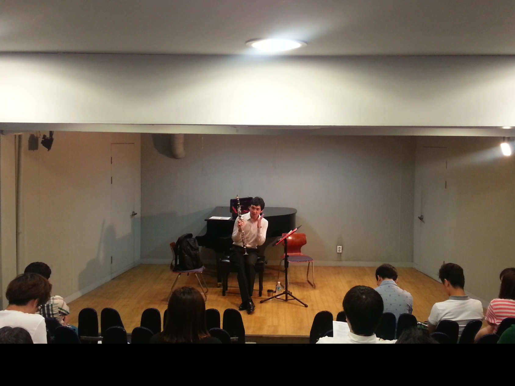 Mozart Lecture at Duo Music Hall, Seoul