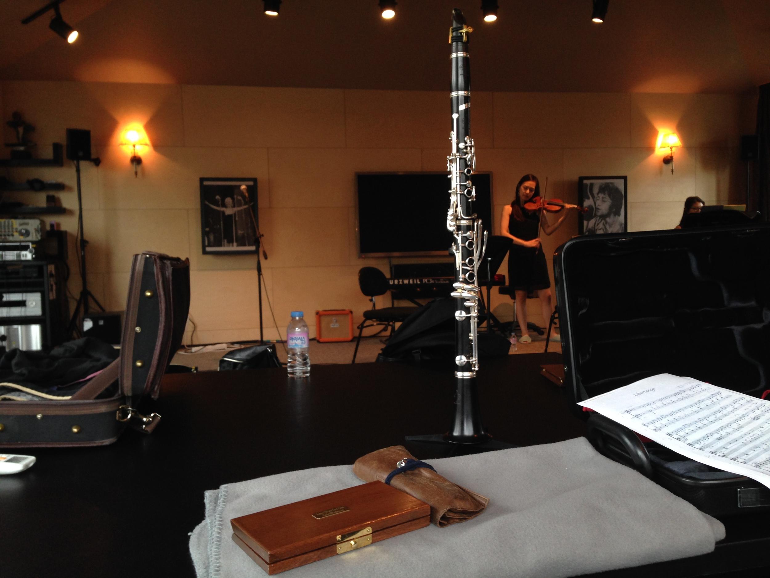 Rehearsing some trios