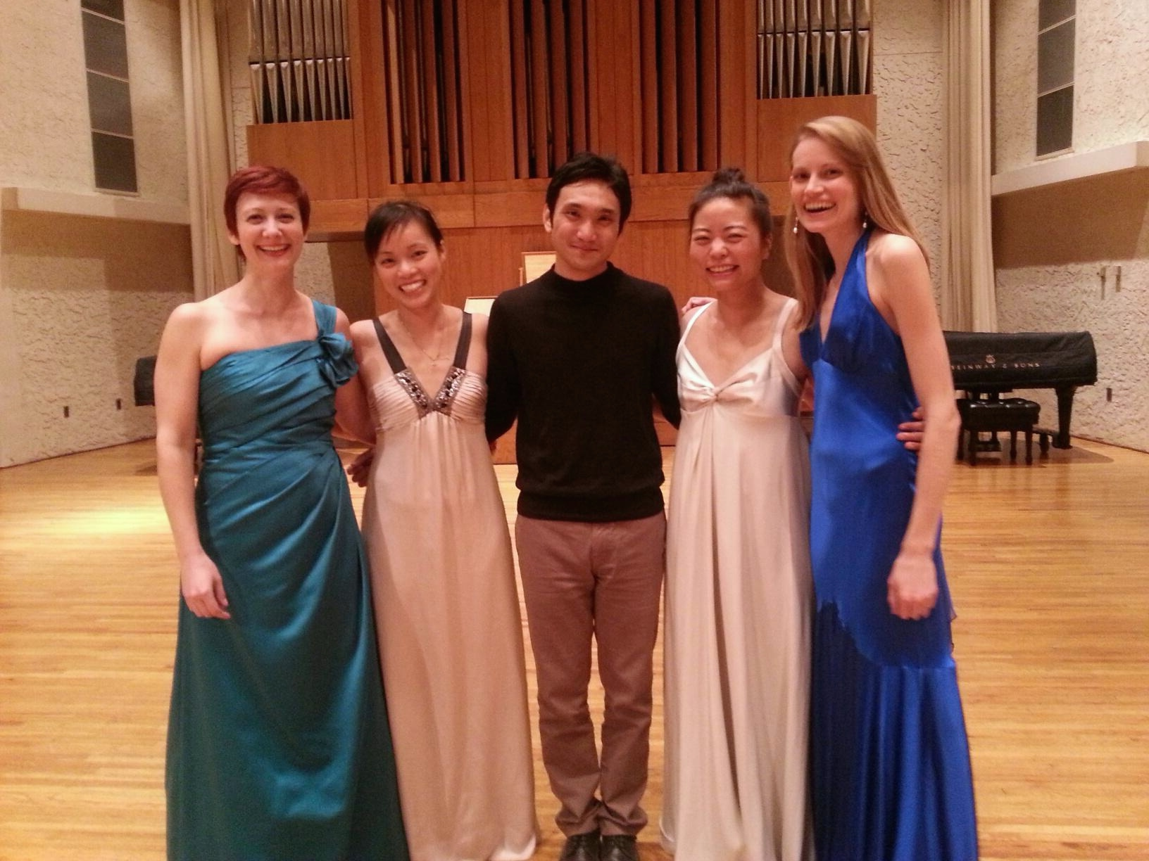After our concert at Middle Tennessee State University last week