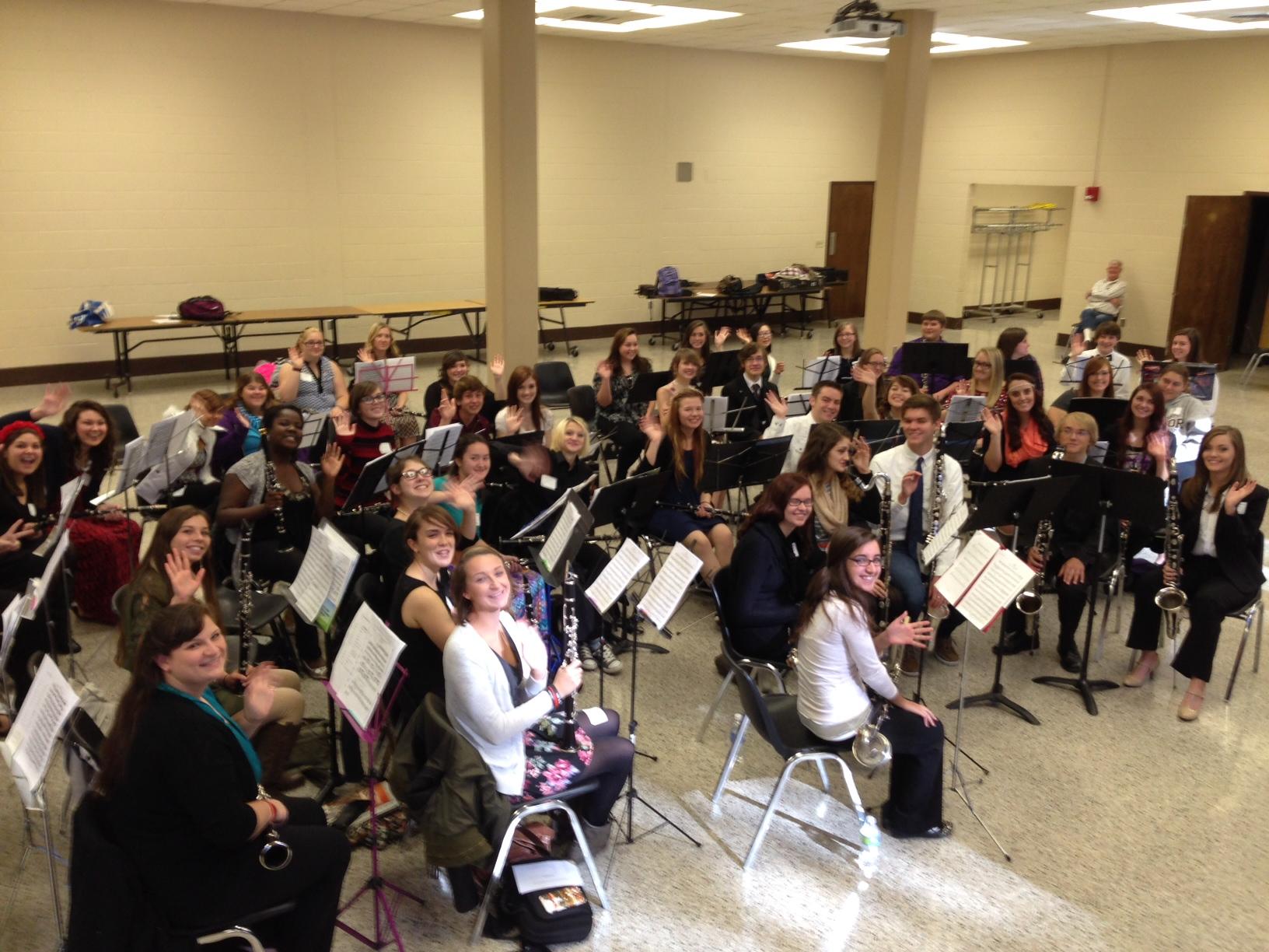 The 2014 TTU All-Star Clarinet Symposium Participants!