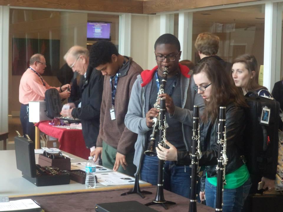 TTU Clarinet Day Exhibition Room