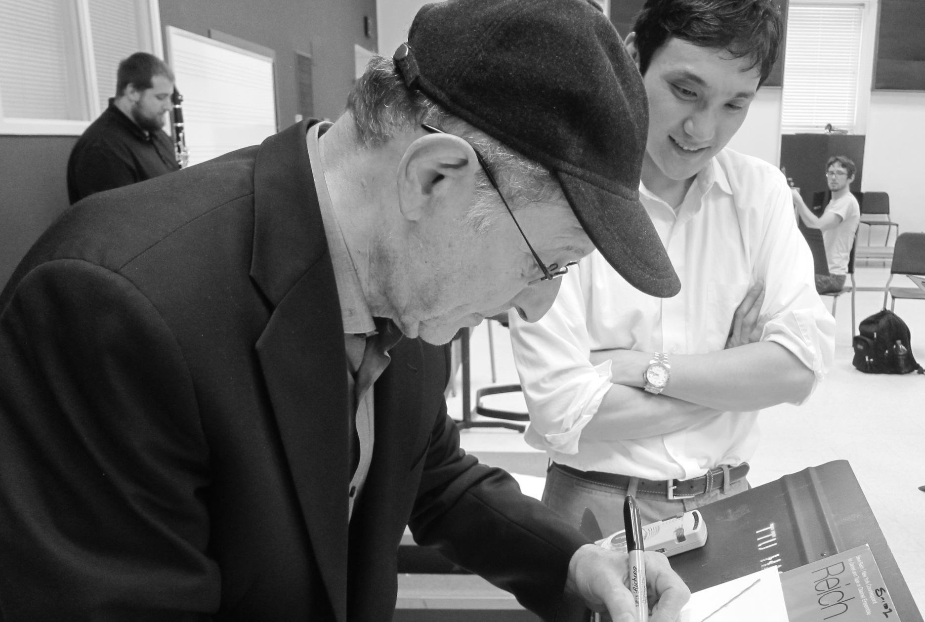 with Steve Reich (2015)