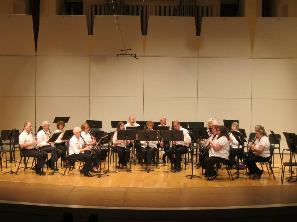 Cookeville Community Band Clarinet Choir
