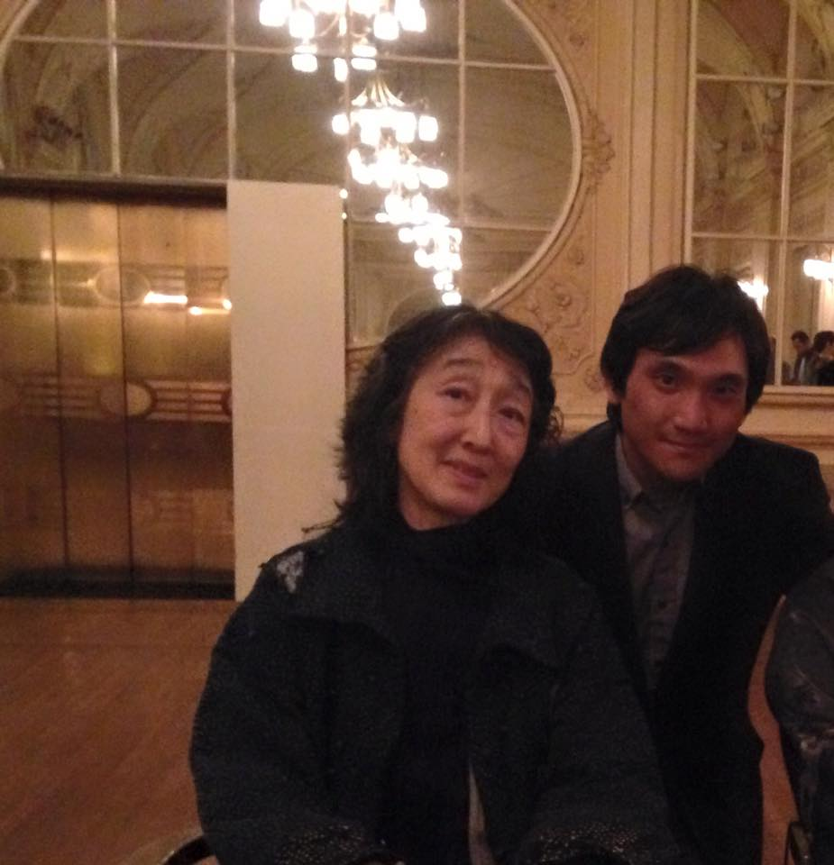 Uchida directed and performed CSO on Saturday evening!