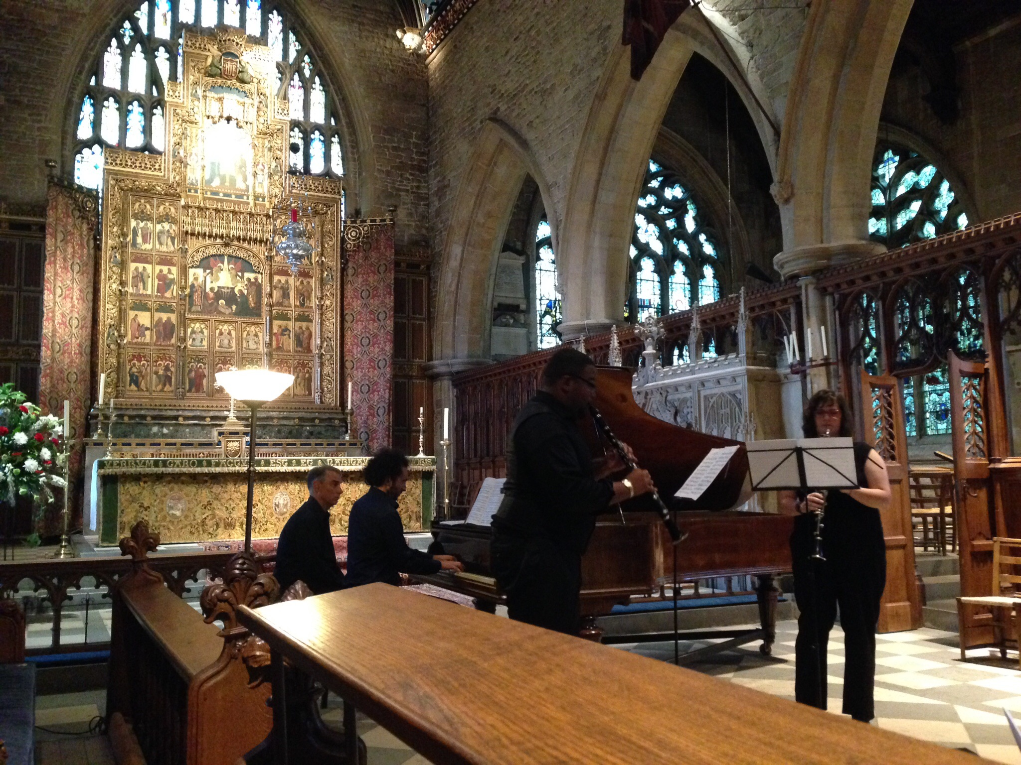 My student Torey performing Mendelssohn's Concert Piece at the St. Wulfram's Church