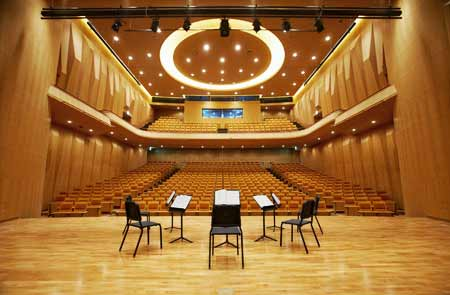 Seoul Arts Center's IBK Chamber Music Hall, built only few years ago!