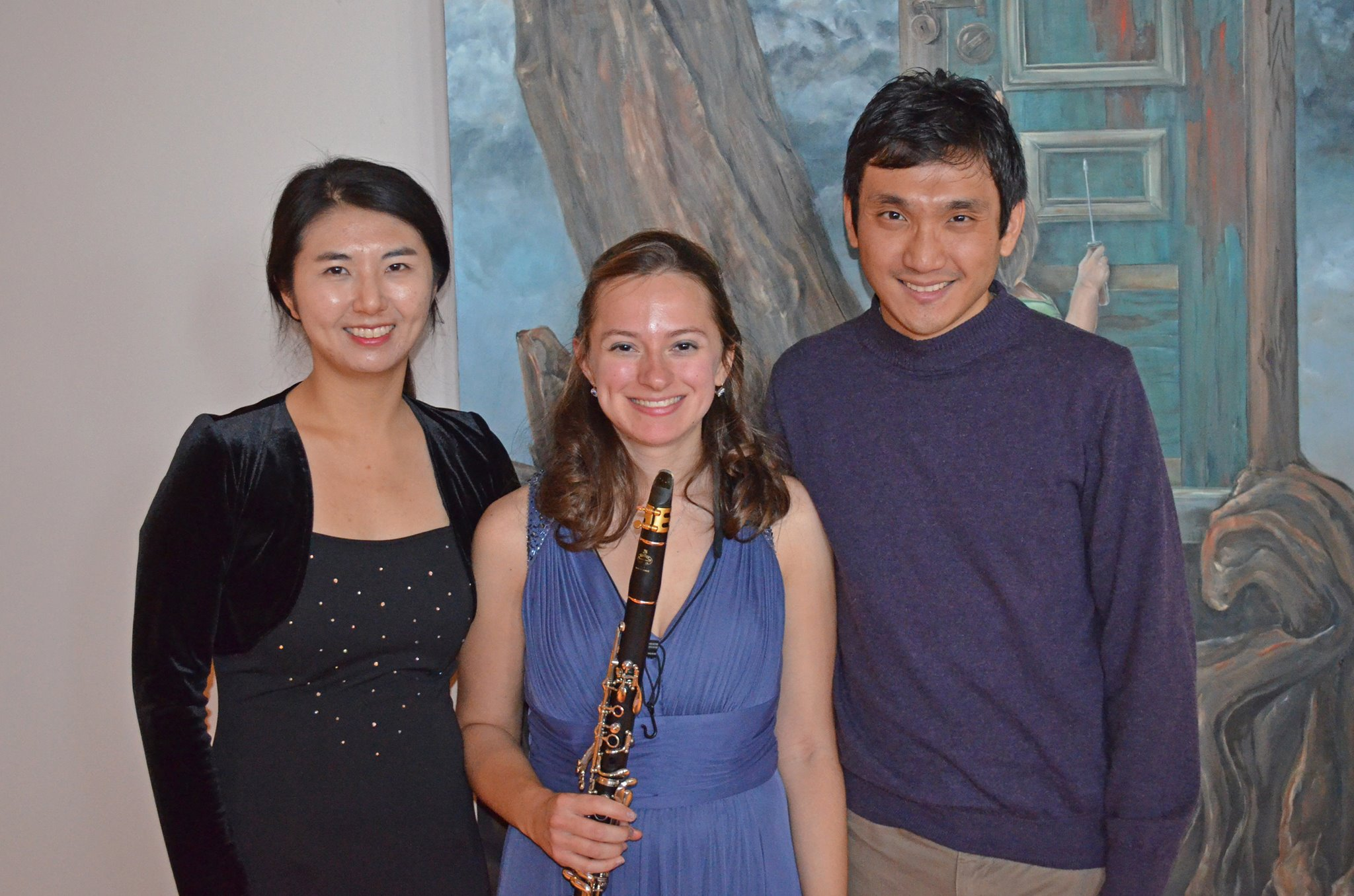 "After Sarah's Senior Recital. Her program: Mozart's Clarinet Concerto, Donald Martino's ""A Set for Clarinet,"" and Brahms's Clarinet Sonata, Op. 120/1"