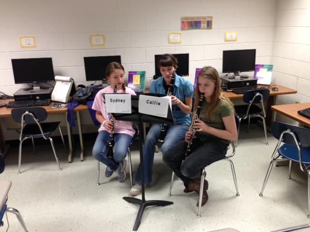TTU Students Visiting Middle Schools