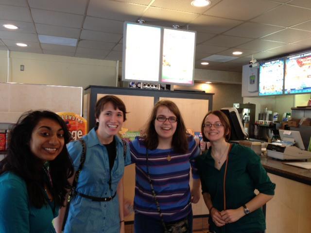 TTU Students Visiting HS