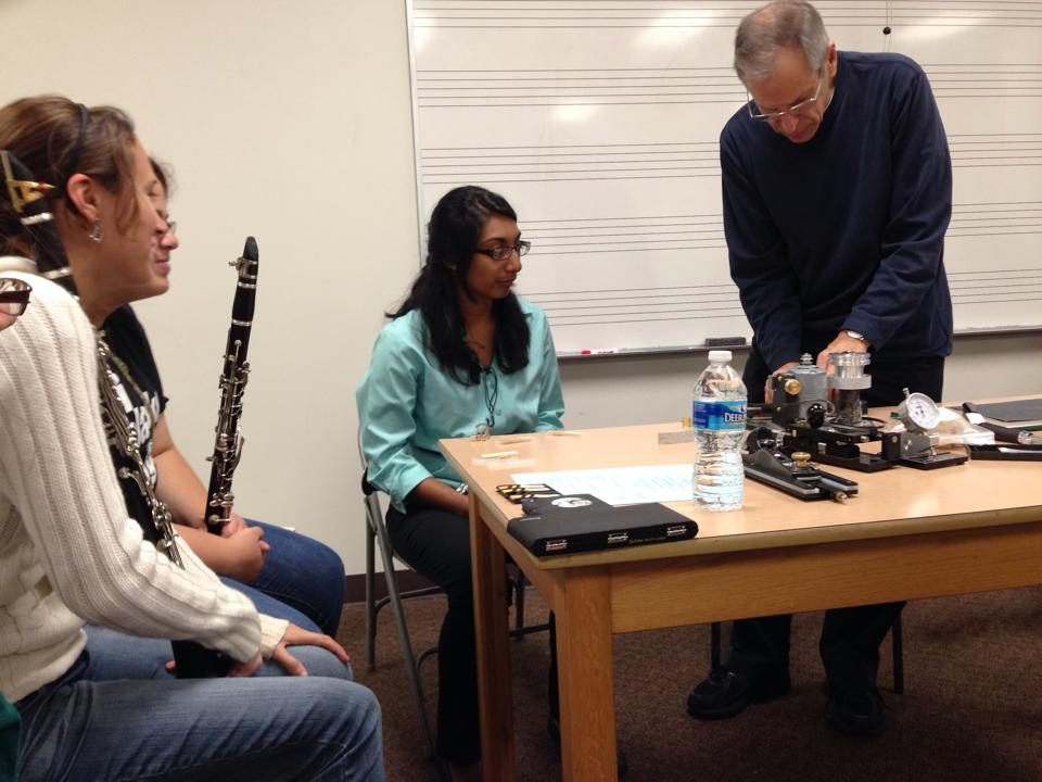 Reed Class with Dr. Frank Kowalsky