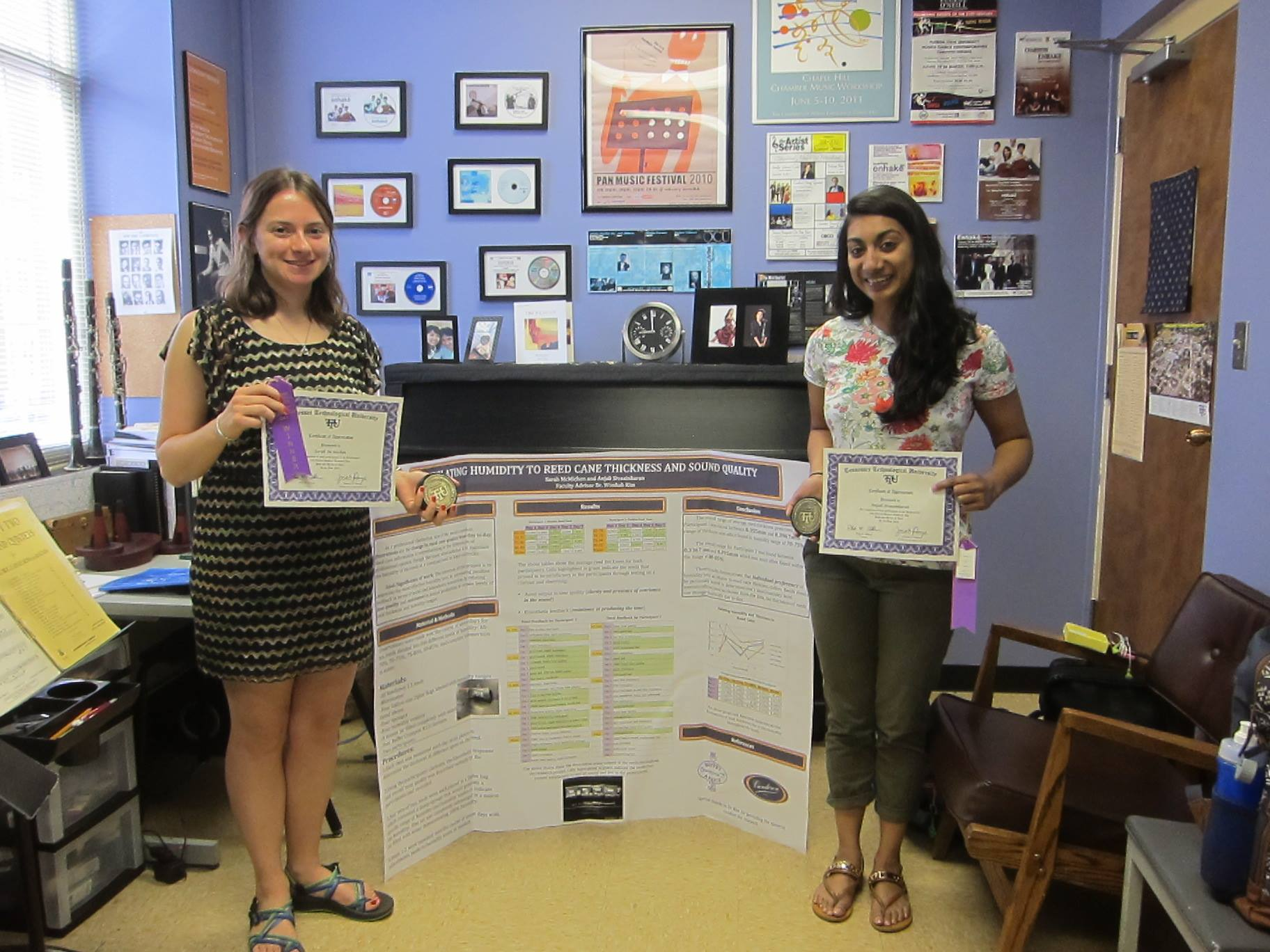 Winners of the Annual TTU Research Day