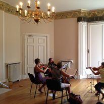 TTU Student rehearsing Mozart Clarinet Quintet