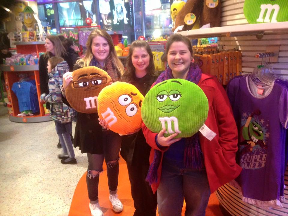 Some M&M fun at Time Square