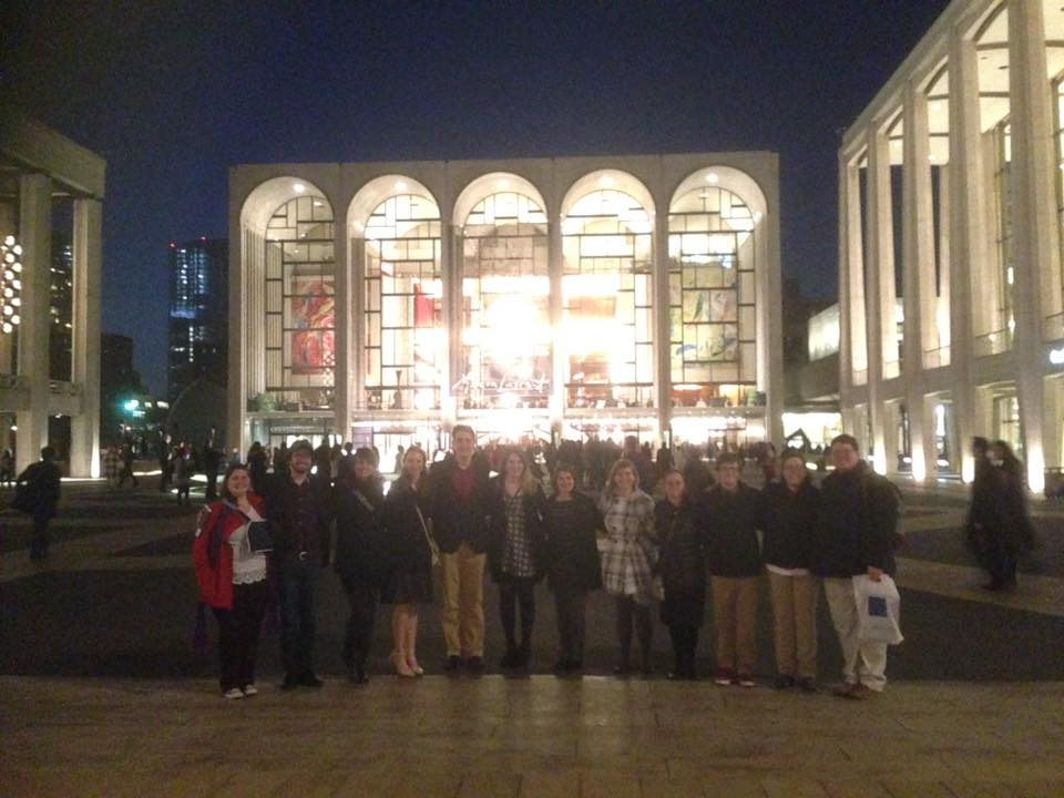 TTU Studio at the Lincoln Center After attending the Met Opera