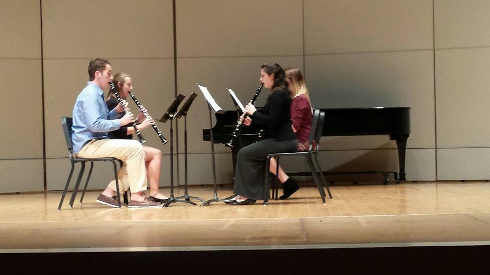 TTU Freshman Clarinet Quartet