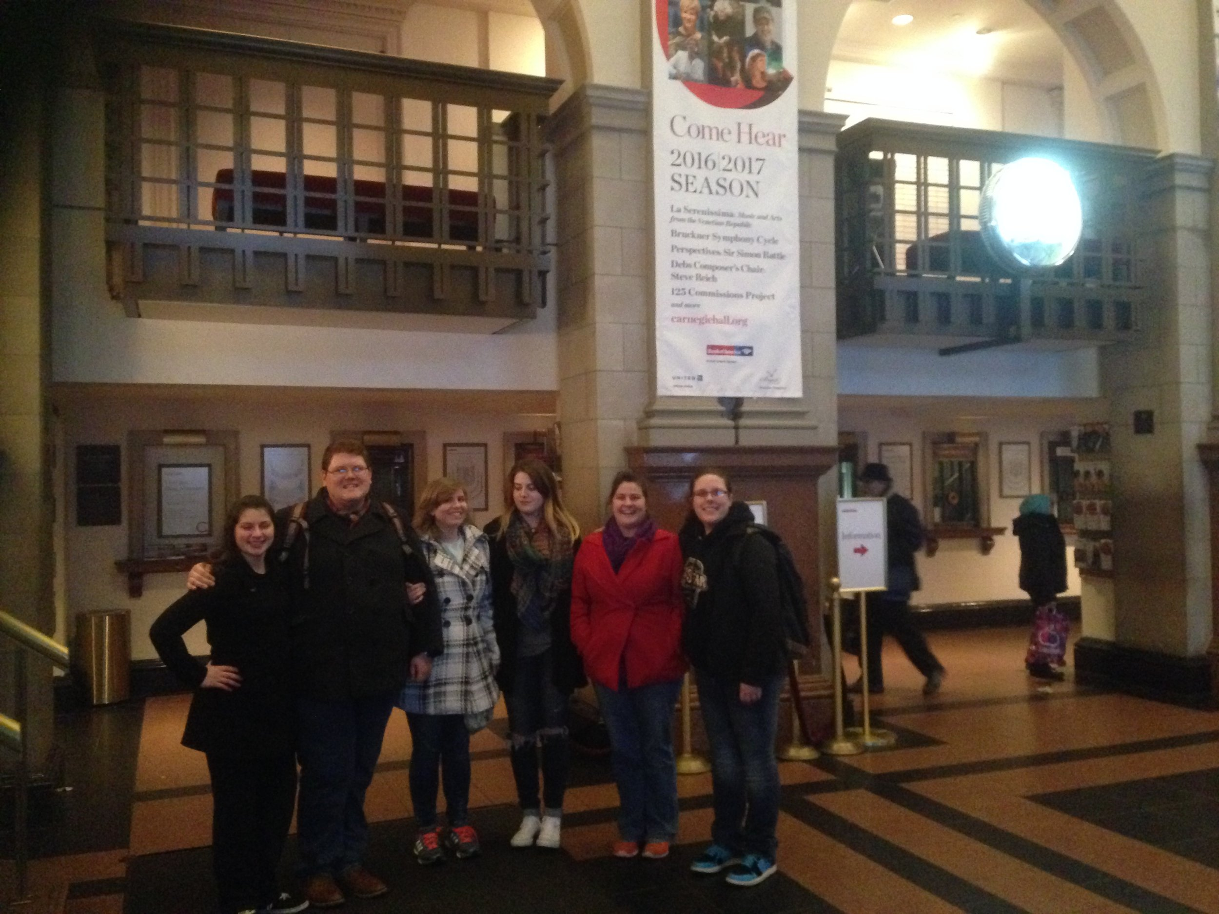 A short stop by at Carnegie Hall